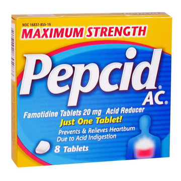 Pepcid AC Maximum Strength Acid Reducer - Box of 8