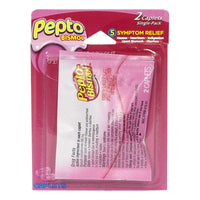 Pepto Bismol Caplets Carded