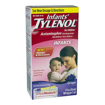 Tylenol Infants? Acetaminophen Oral Suspension - 1 oz.