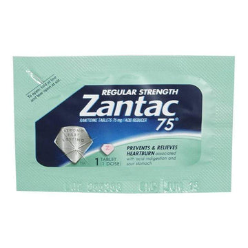 UNAVAILABLE - Zantac 75 Acid Reducer - Pack of 1