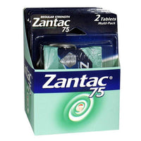 UNAVAILABLE - Zantac 75 Acid Reducer Carded - Card of 2