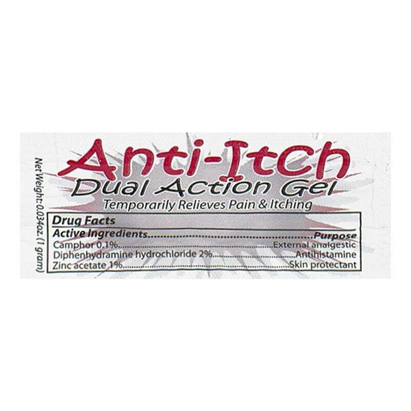 Coretex Anti-Itch Dual Action Gel, Packet - 1g Foil Packet