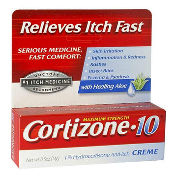 Cortizone-10 Anti-Itch Cream - 0.5 oz.