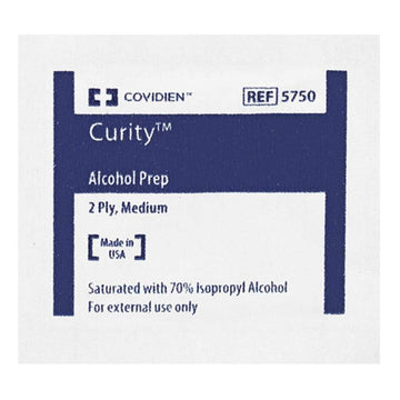 Curity Alcohol Prep Sterile Wipes