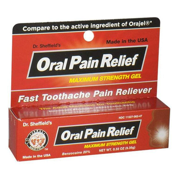DISCONTINUED - Dr. Sheffield's Oral Pain Relief - 0.33 oz.