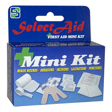 Select First Aid Kit - 12 Piece Kit