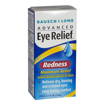 DISC - Bausch & Lomb Redness Eye Relief Drops - 0.5 oz.