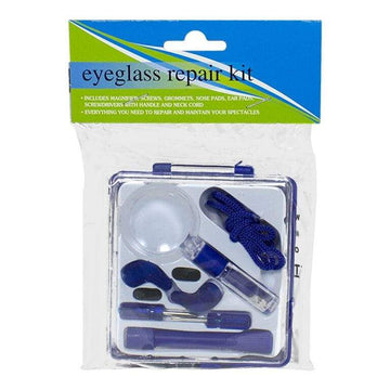 Eyeglass Repair Kit - 8 Piece in Carrying Case