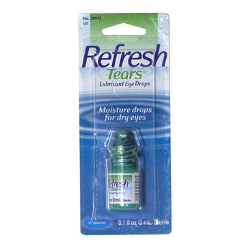 Refresh Tears Lubricant Eye Drops - 0.1 oz.