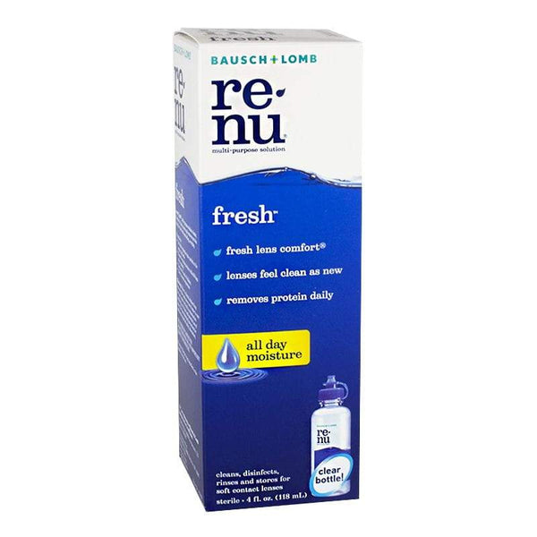 Bausch & Lomb ReNu Multi-Purpose Solution - 4 oz.