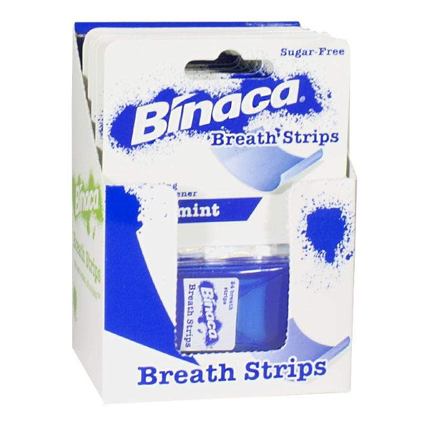 DISCONTINUED - Binaca Breath Strips - Pack of 24