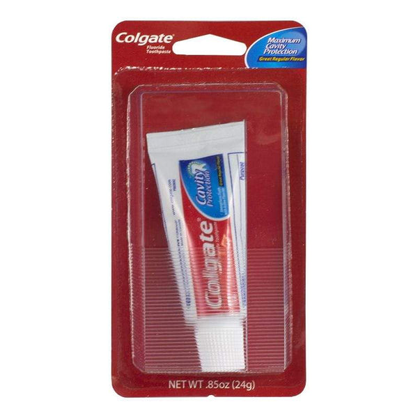 Colgate Regular Toothpaste Carded - 0.85 oz. Carded