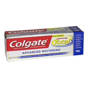 Colgate Total Advanced Whitening Toothpaste - 0.88 oz.