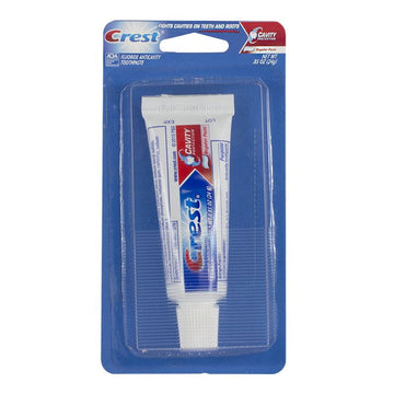 Crest Regular Toothpaste - 0.85 oz. Carded