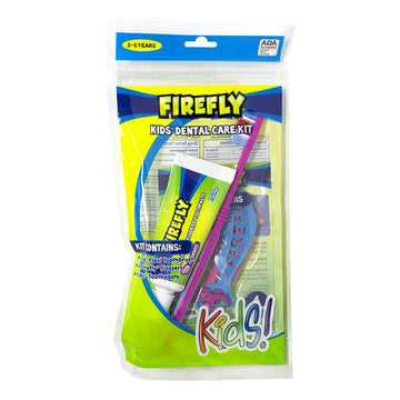 Firefly Kid's Dental Care Kit, 6 piece kit - 6 piece kit