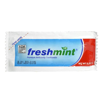 Freshmint ADA Accepted single-use Toothpaste - 0.28 oz.