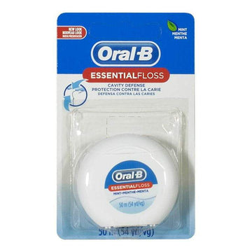 Oral B Waxed Mint Floss - 54 yd.