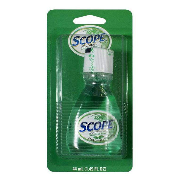 Crest Scope Mint Mouthwash Carded - 1.2 oz. Carded