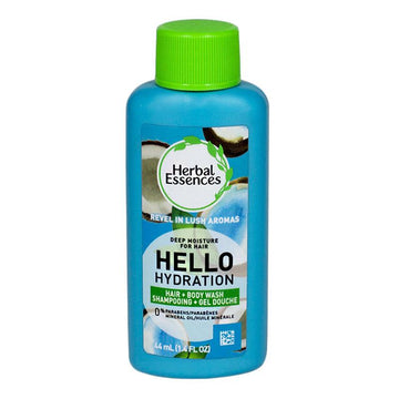 Herbal Essences Hello Hydration Shampoo+Body Wash - 1.4 oz.