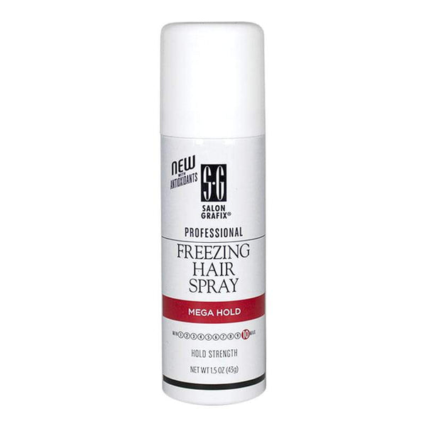 Salon Grafix Freezing Hair Spray Mega Hold - 1.5 oz.