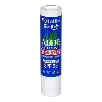 Fruit of the Earth Aloe & Vitamin E Lip Balm SPF 23 - 0.15 oz.