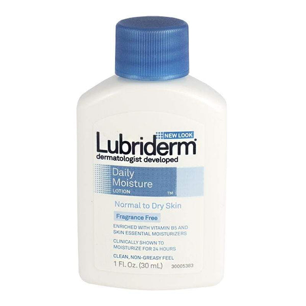 Lubriderm Daily Moisture Lotion Travel Size - 1 oz.