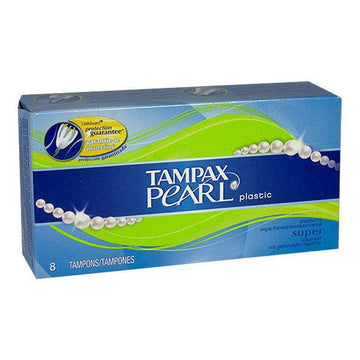 Tampax Pearl Super Tampons - Box of 8
