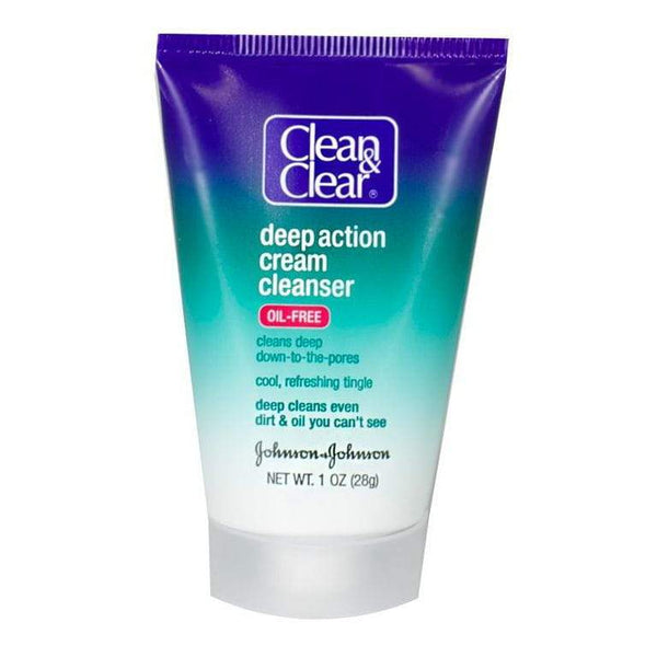 Clean & Clear Cream Cleanser - 1 oz