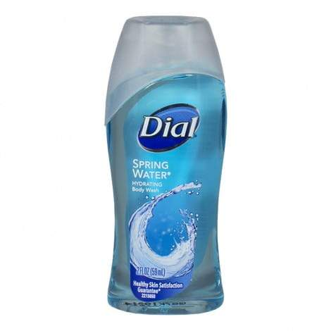 Dial Spring Water Hydrating Body Wash - 2 oz.