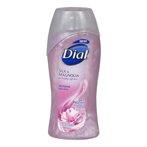 Dial Silk & Magnolia Restoring Body Wash - 2 oz.
