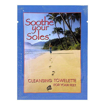 DISCONTINUED Soothe Your Soles Cleansing Towelette for Your Feet