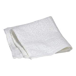 DBM - White Washcloth (loose) - 12 in. x 12 in.