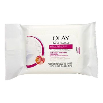Olay Daily Facials Dry Cloths - Pack of 7