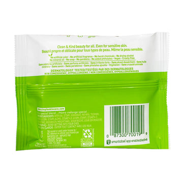 Simple Sensitive Skin Cleansing Facial Wipes - Pack of 7