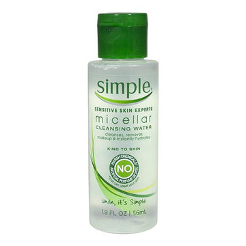 Simple Micellar Cleansing Water - 1.9 oz.