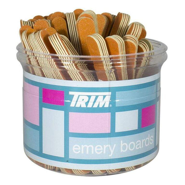 DISCONTINUED - Trim Emery Boards in Display Bucket - Pack of 5