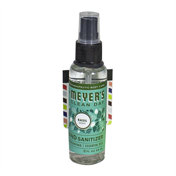 Mrs. Meyer's Basil Hand Sanitizer Spray - 2 oz.