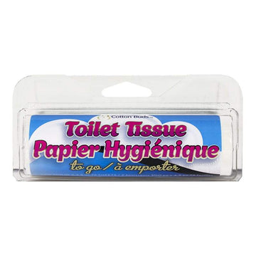 Toilet Tissue Paper to Go - 75 Sheets