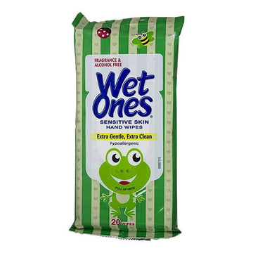 Wet Ones Infant Sensitive Skin Wipes - Pack of 20