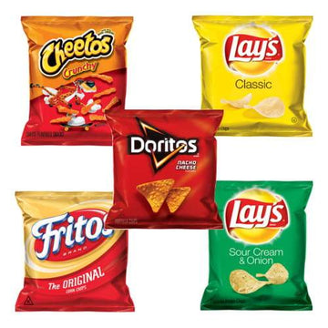 Frito Lays Chips Variety Pack - 1 oz.