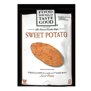 Food Should Taste Good Sweet Potato Tortilla Chips - 1.5 oz.