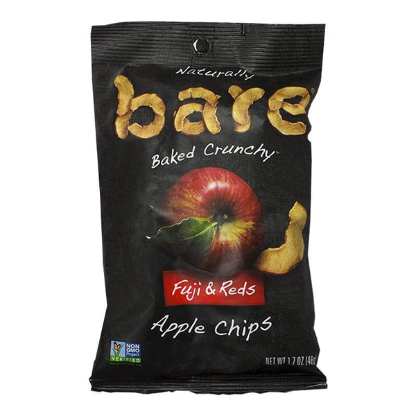 DISCONTINUED - Bare Snacks Natural Fuji & Reds Apple Chips - 1.69 oz.