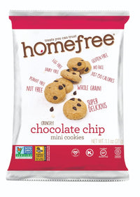 Homefree Chocolate Chip Cookies - 1.1 oz.