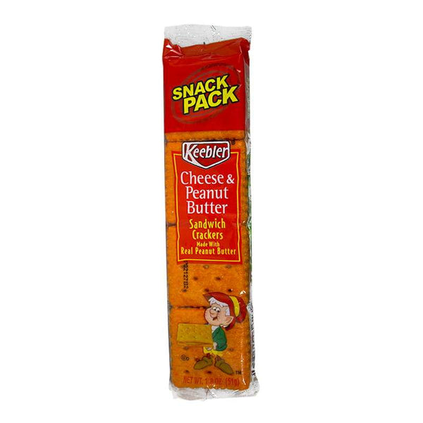 Keebler Cheese & Peanut Butter Sandwich Cracker - 1.8 oz.