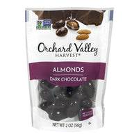Orchard Valley Dark Chocolate Almonds - 2 oz.