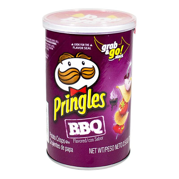 Pringles BBQ Potato Crisps - 2.5 oz.