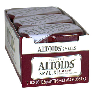 DISCONTINUED - Altoids Smalls Cinnamon Mints - Tin of 50