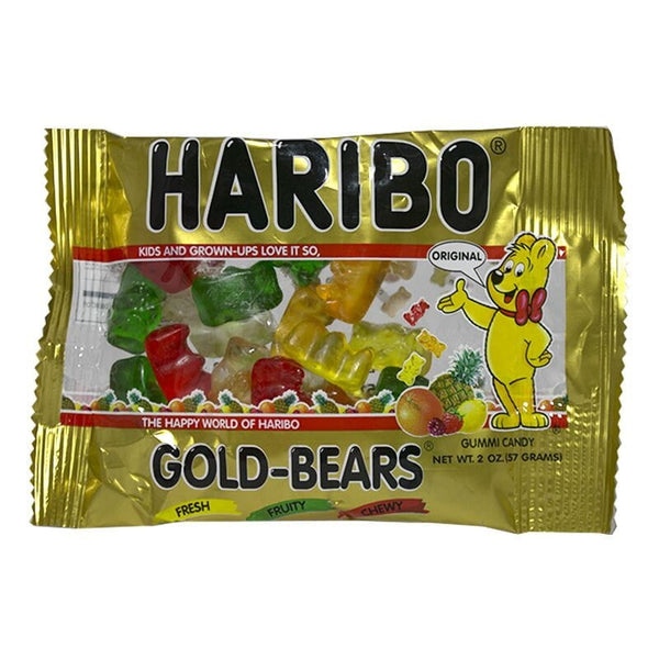 Haribo Gold-Bears Gummi Candy - 2 oz.