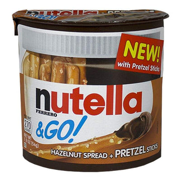 Nutella & Go Hazelnut Spread + Pretzels - 1.8 oz.