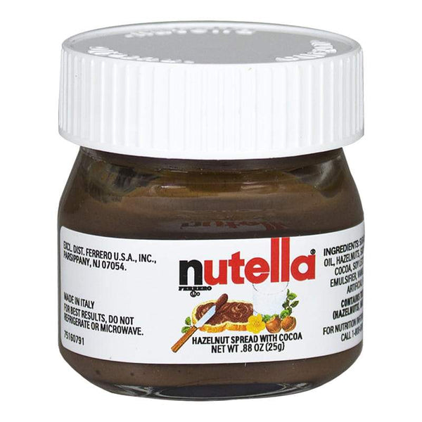 Nutella Glass Jar - 0.88 oz.